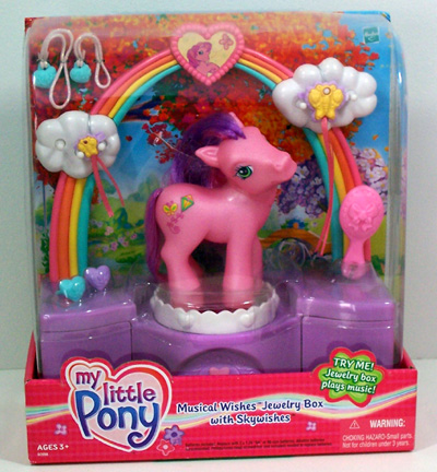 My Little Pony Jewelry Box Delectable G60 Ponies